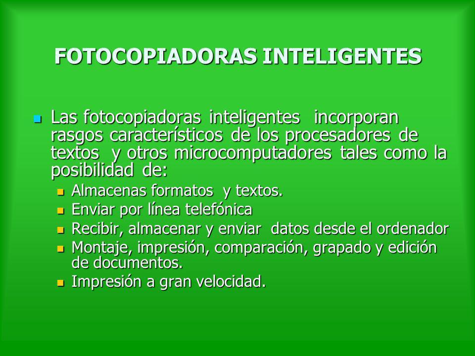 FOTOCOPIADORAS INTELIGENTES