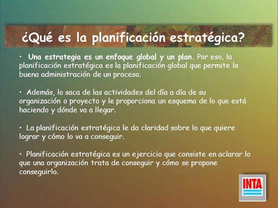 ¿Qué es la planificación estratégica