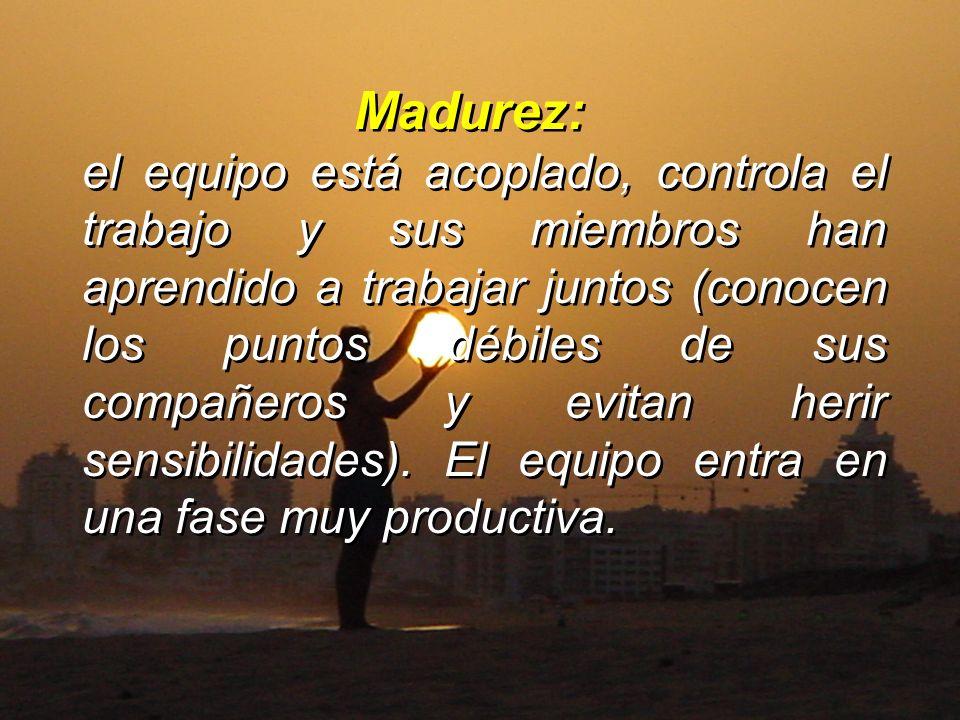 Madurez: