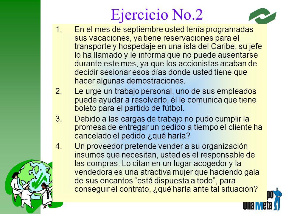 Ejercicio No.2