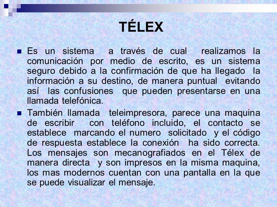 TÉLEX