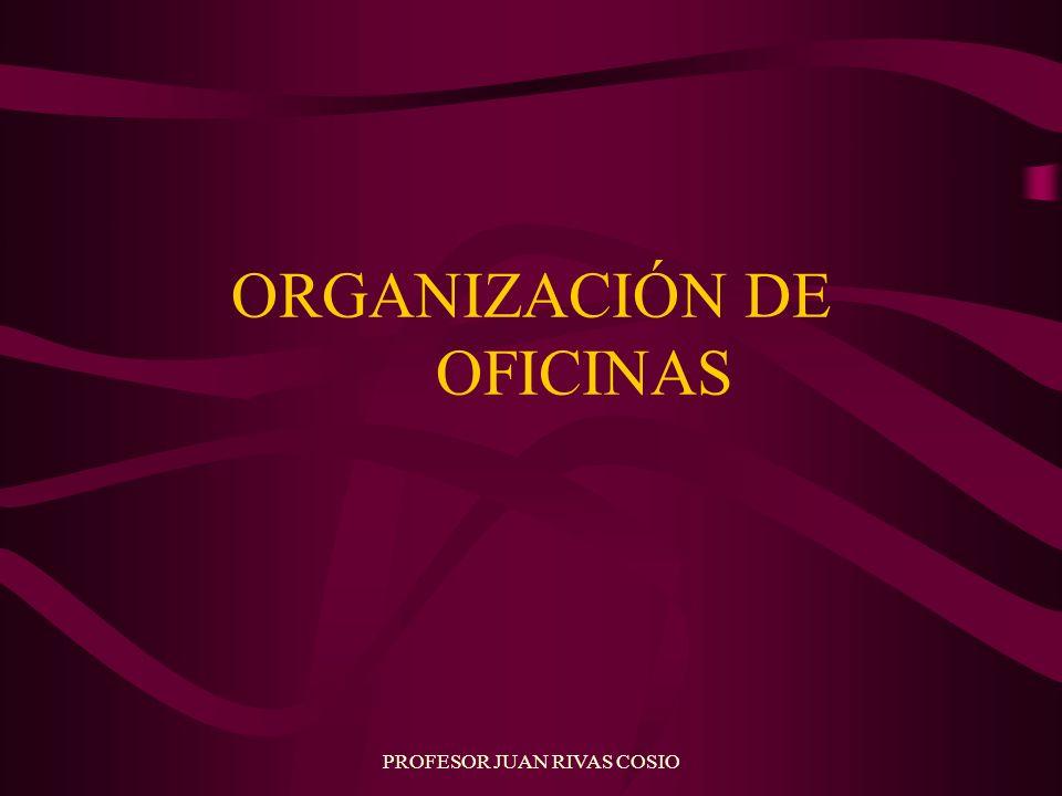 ORGANIZACIÓN DE OFICINAS