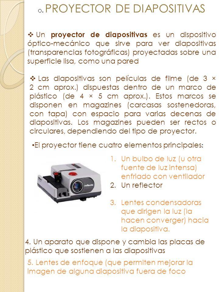 . PROYECTOR DE DIAPOSITIVAS