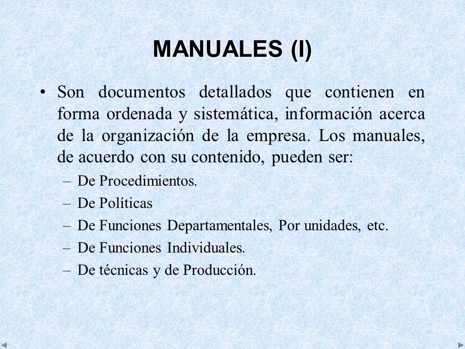 MANUALES (I)