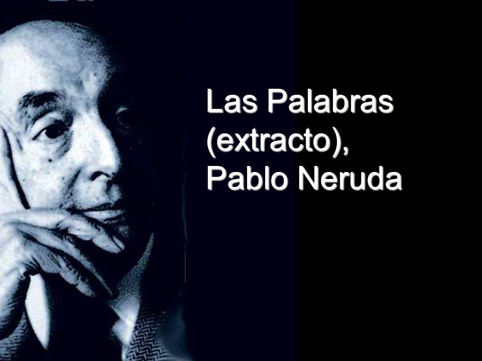Las Palabras (extracto),