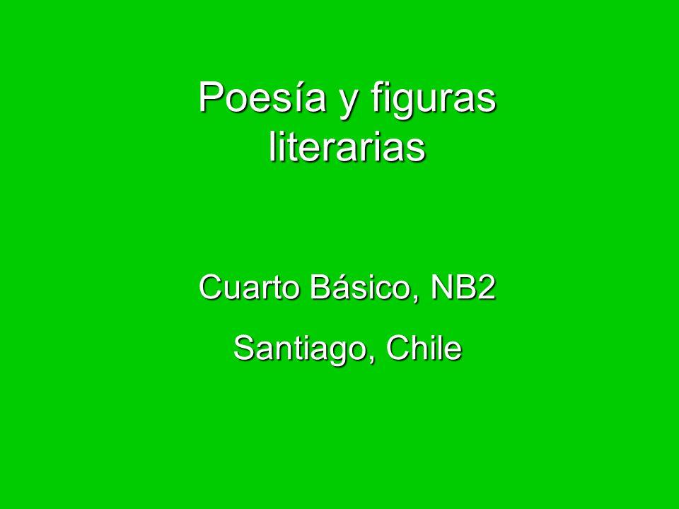 Poesía y figuras literarias