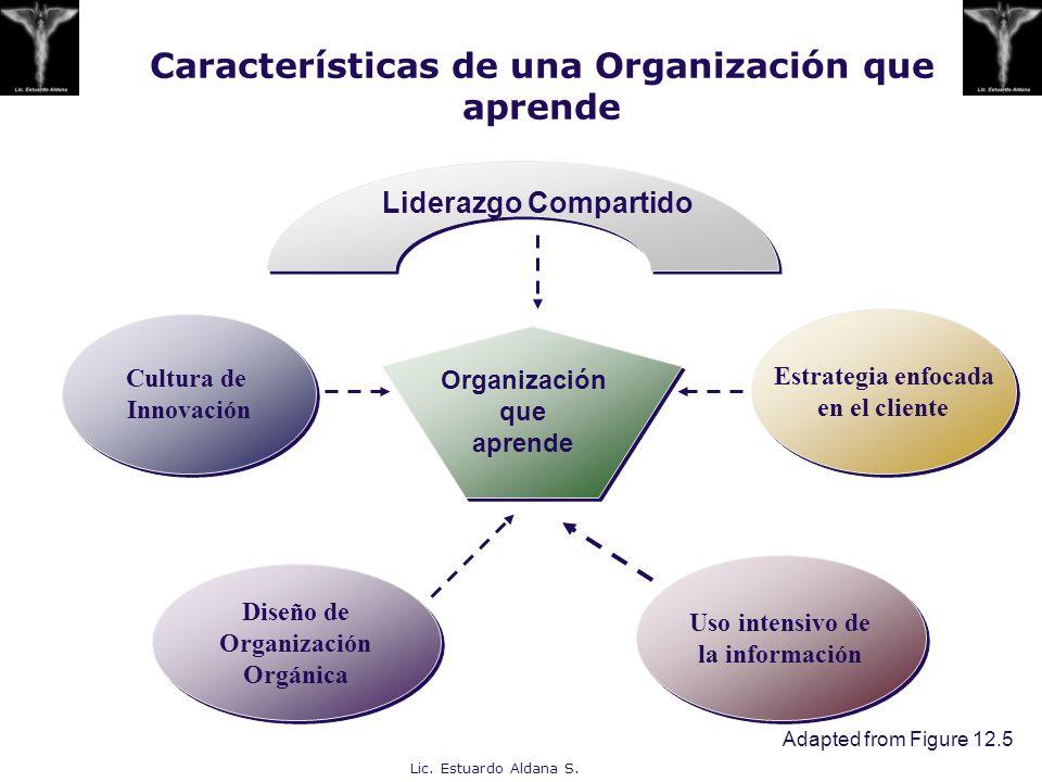Características de una Organización que aprende