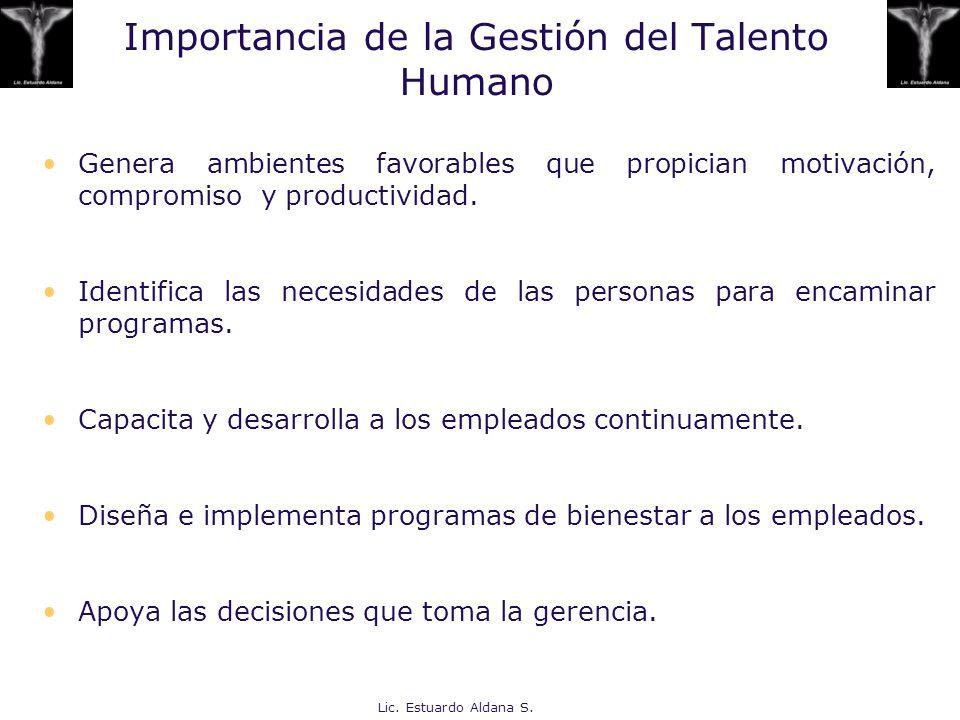 Importancia de la Gestión del Talento Humano