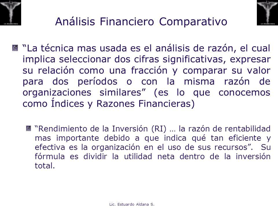 Análisis Financiero Comparativo