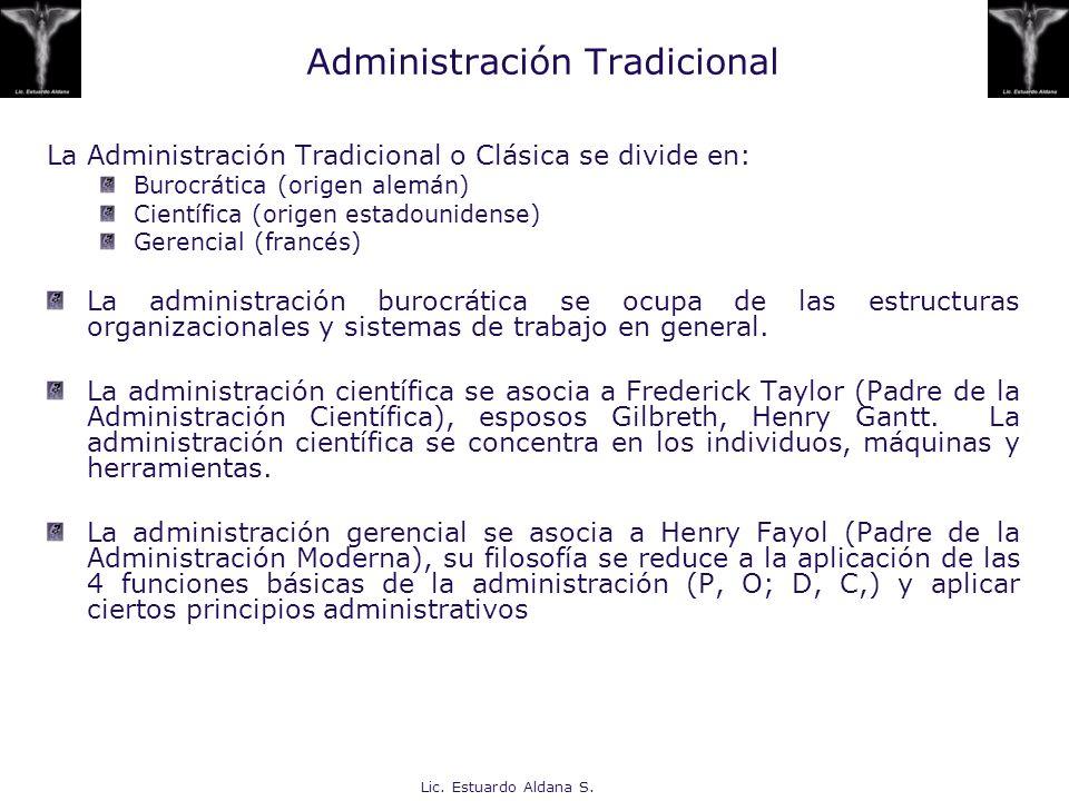 Administración Tradicional