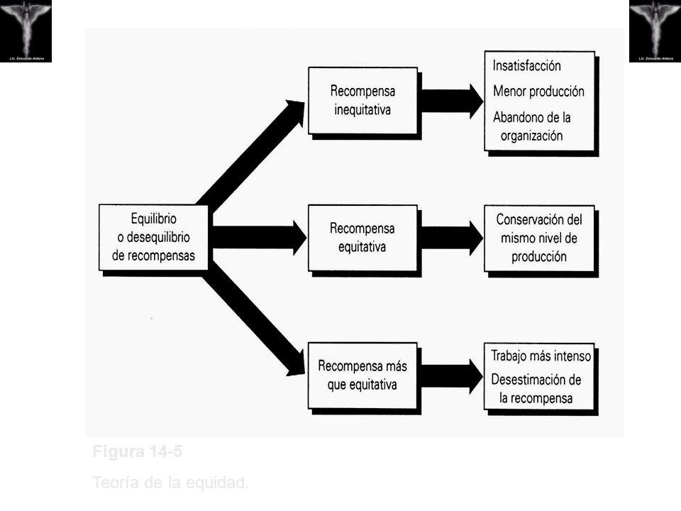 Figura 14-5 Teoría de la equidad.