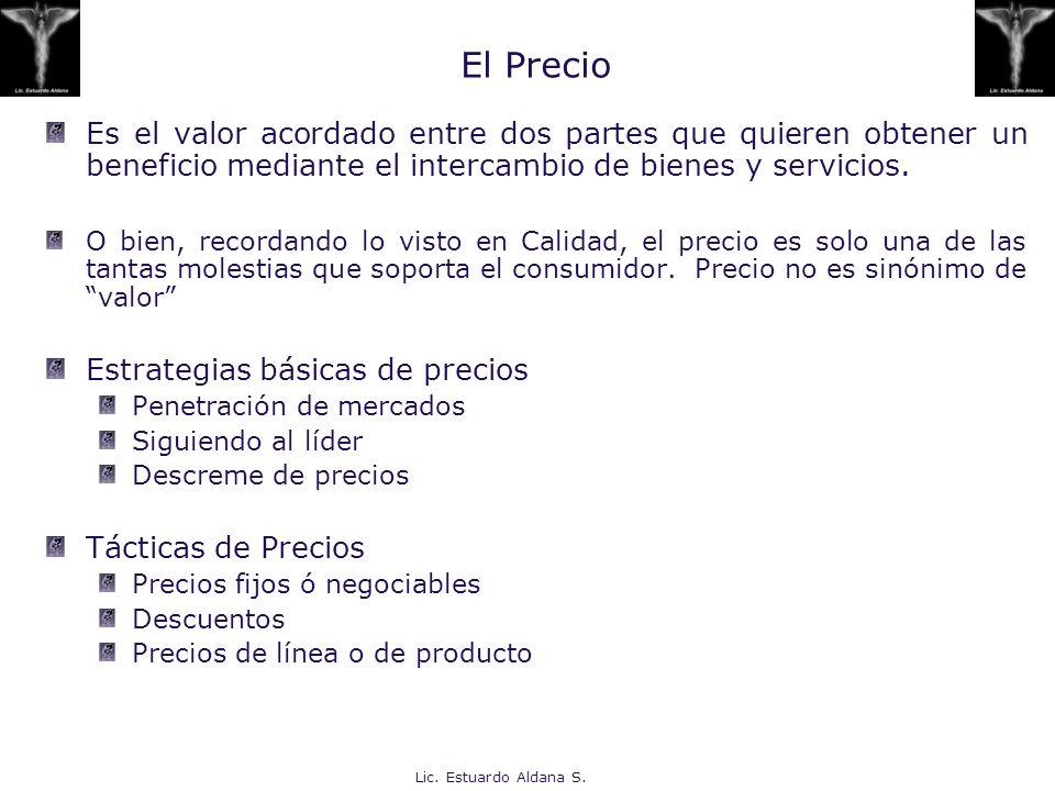 El Precio Es el valor acordado entre dos partes que quieren obtener un beneficio mediante el intercambio de bienes y servicios.