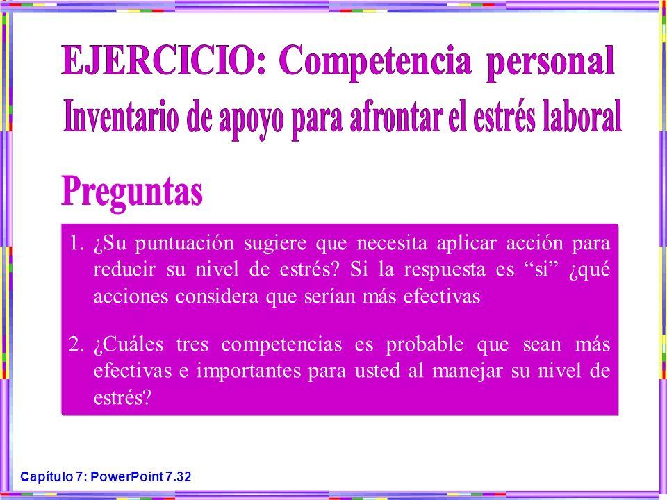 Preguntas EJERCICIO: Competencia personal