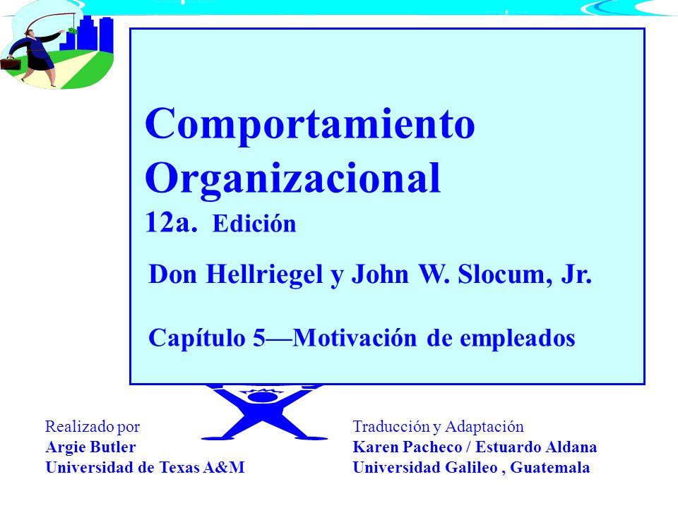 Comportamiento Organizacional 12a. Edición