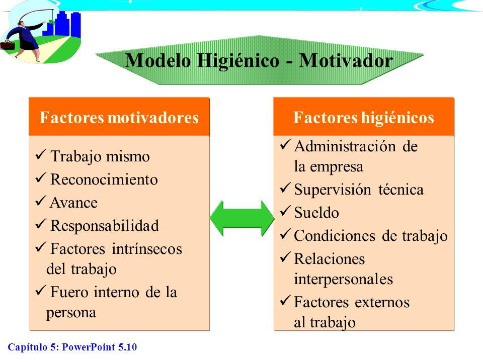 Modelo Higiénico - Motivador