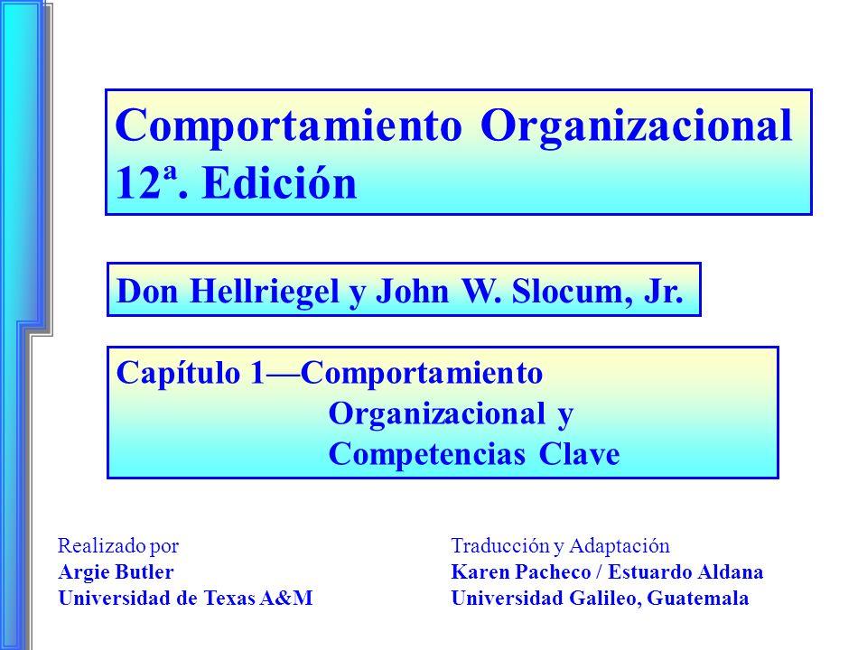 Comportamiento Organizacional 12ª. Edición