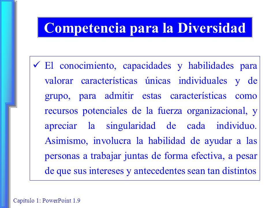 Competencia para la Diversidad