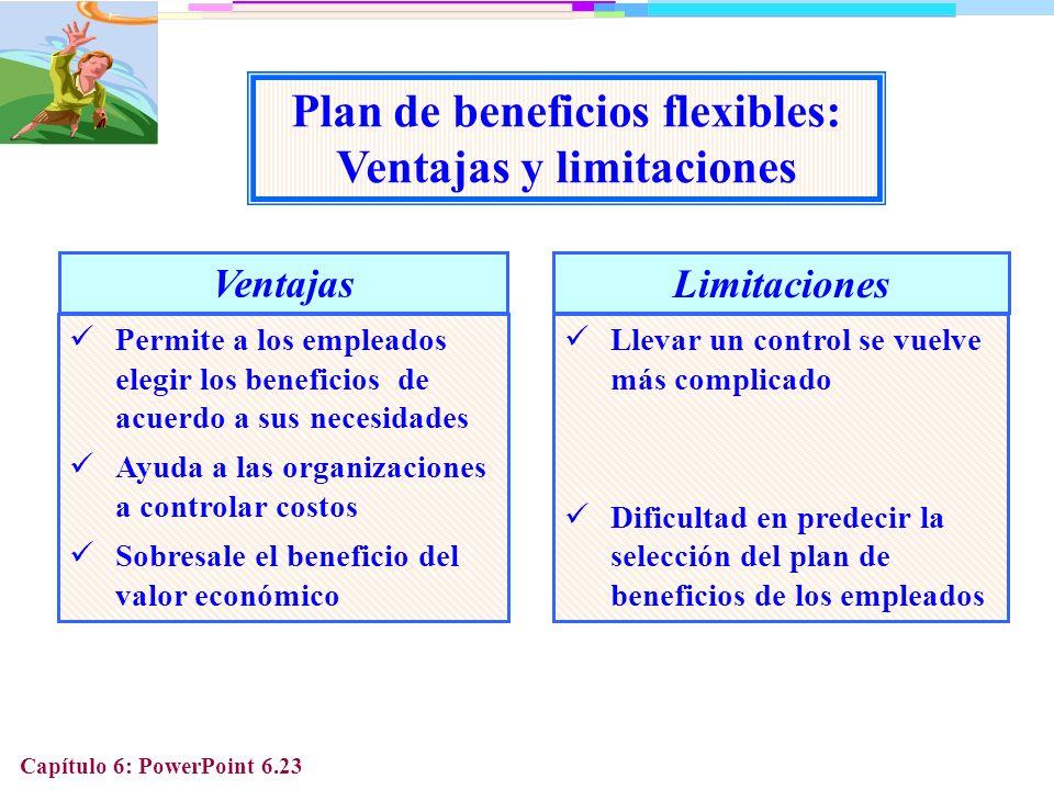 Plan de beneficios flexibles: Ventajas y limitaciones