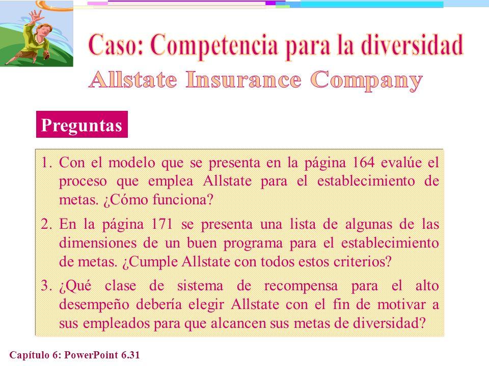 Caso: Competencia para la diversidad Allstate Insurance Company