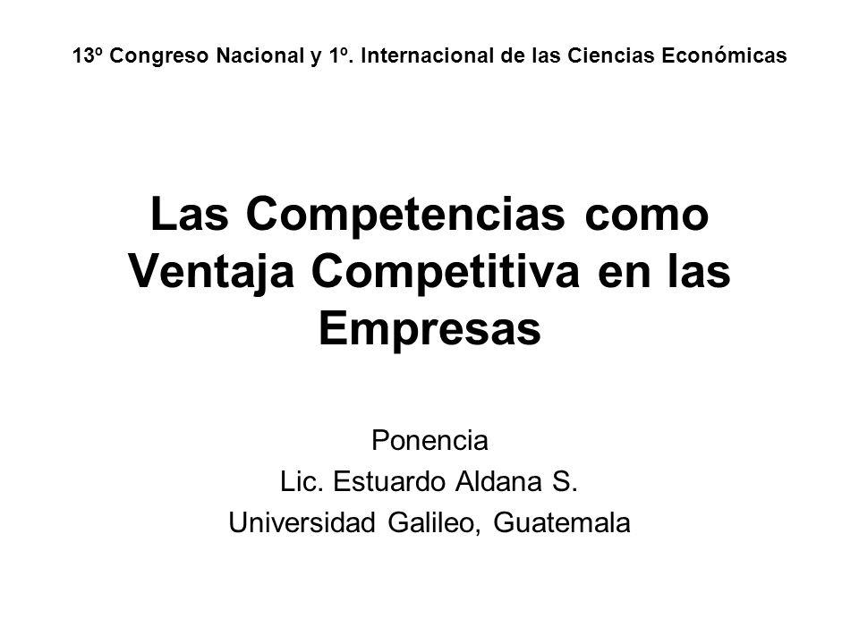 Las Competencias como Ventaja Competitiva en las Empresas