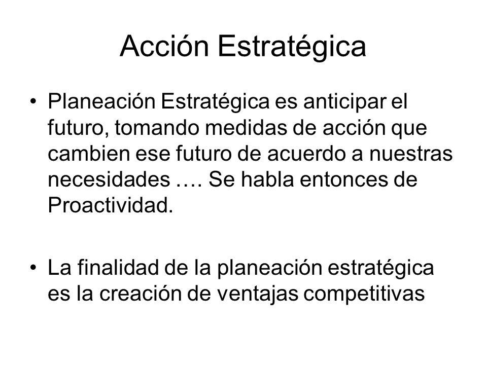 Acción Estratégica