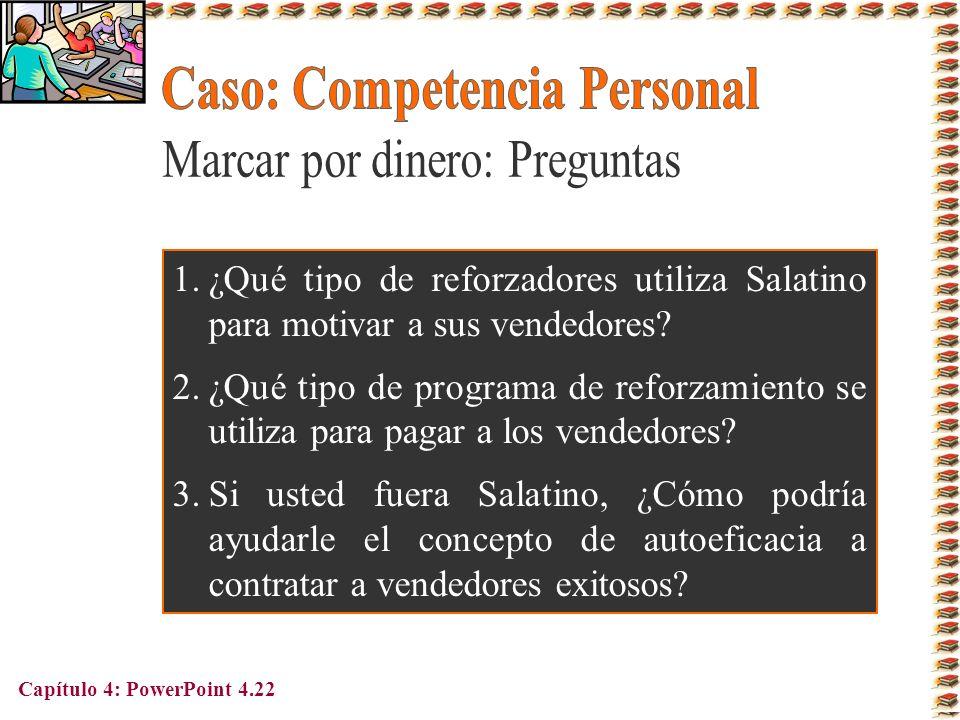 Caso: Competencia Personal