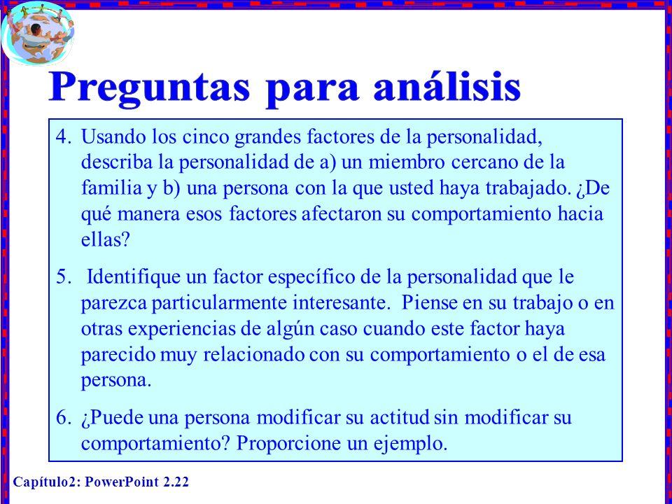 Preguntas para análisis