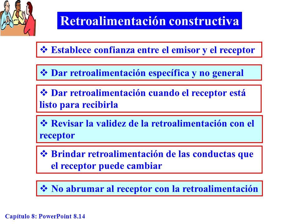 Retroalimentación constructiva