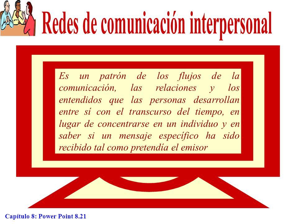 Redes de comunicación interpersonal