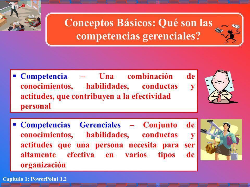 Conceptos Básicos: Qué son las competencias gerenciales