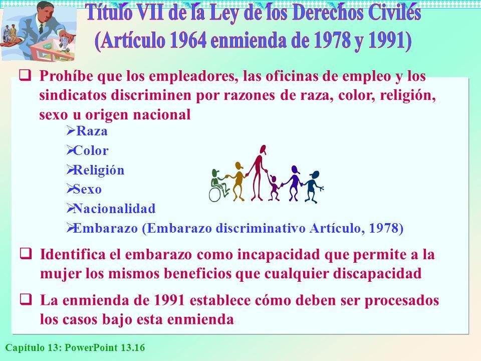 Título VII de la Ley de los Derechos Civiles