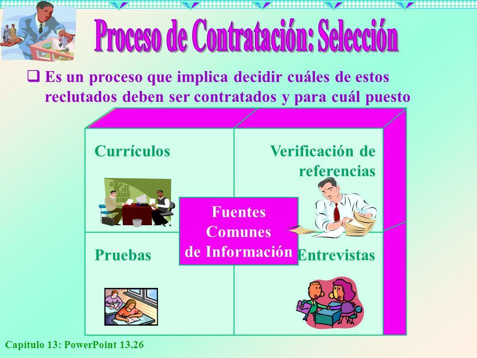 Proceso de Contratación: Selección