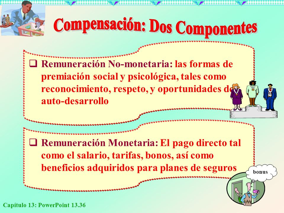 Compensación: Dos Componentes