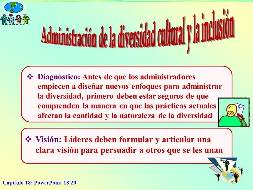 Administración de la diversidad cultural y la inclusión