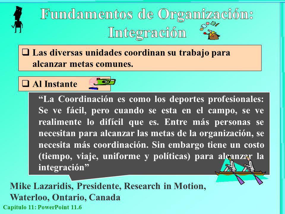 Fundamentos de Organización: