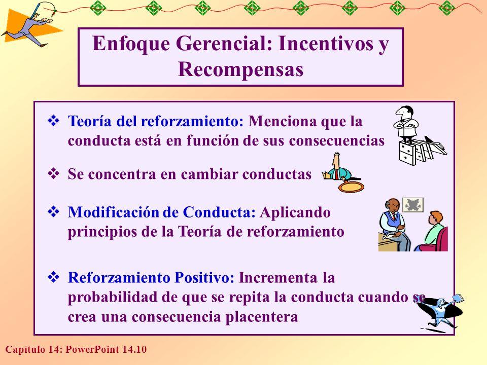 Enfoque Gerencial: Incentivos y