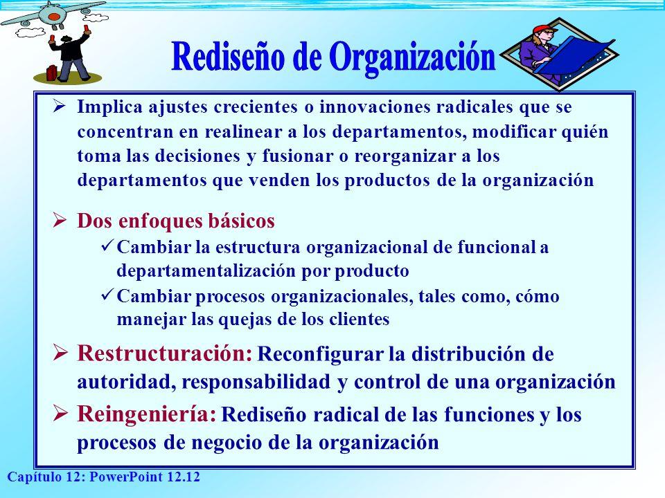 Rediseño de Organización