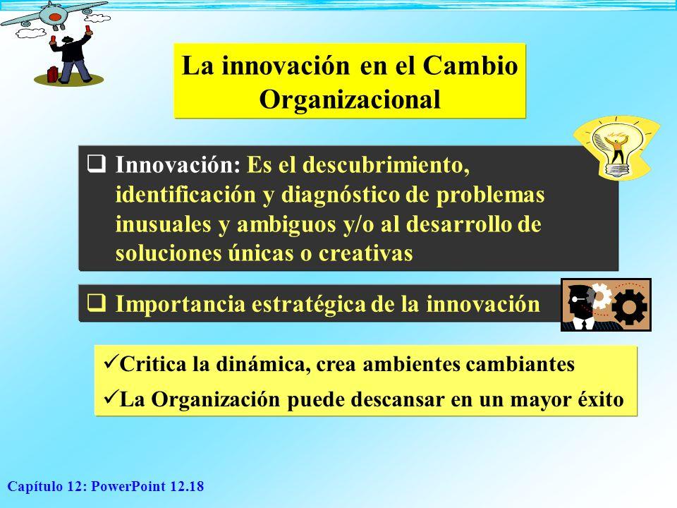 La innovación en el Cambio