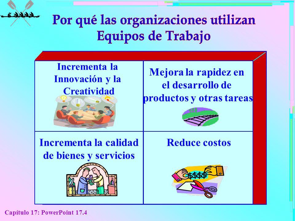 Por qué las organizaciones utilizan productos y otras tareas