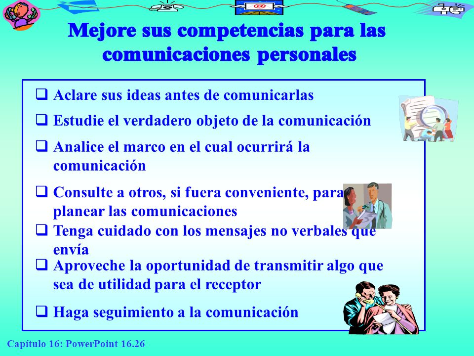 Mejore sus competencias para las comunicaciones personales