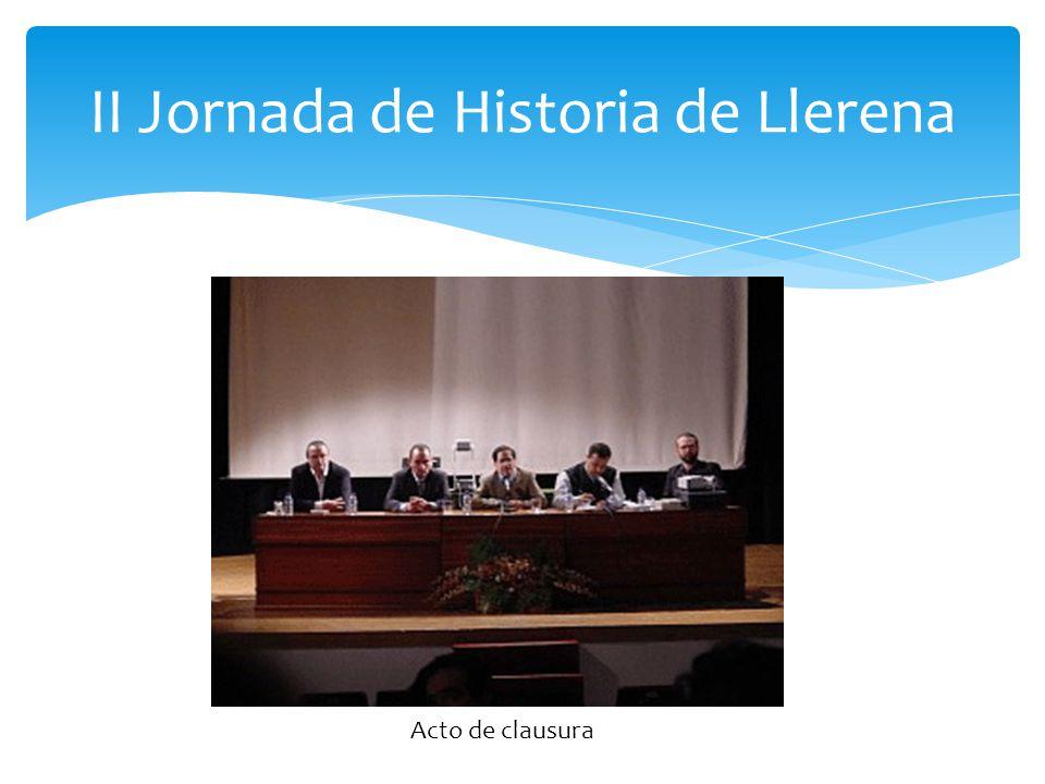 II Jornada de Historia de Llerena