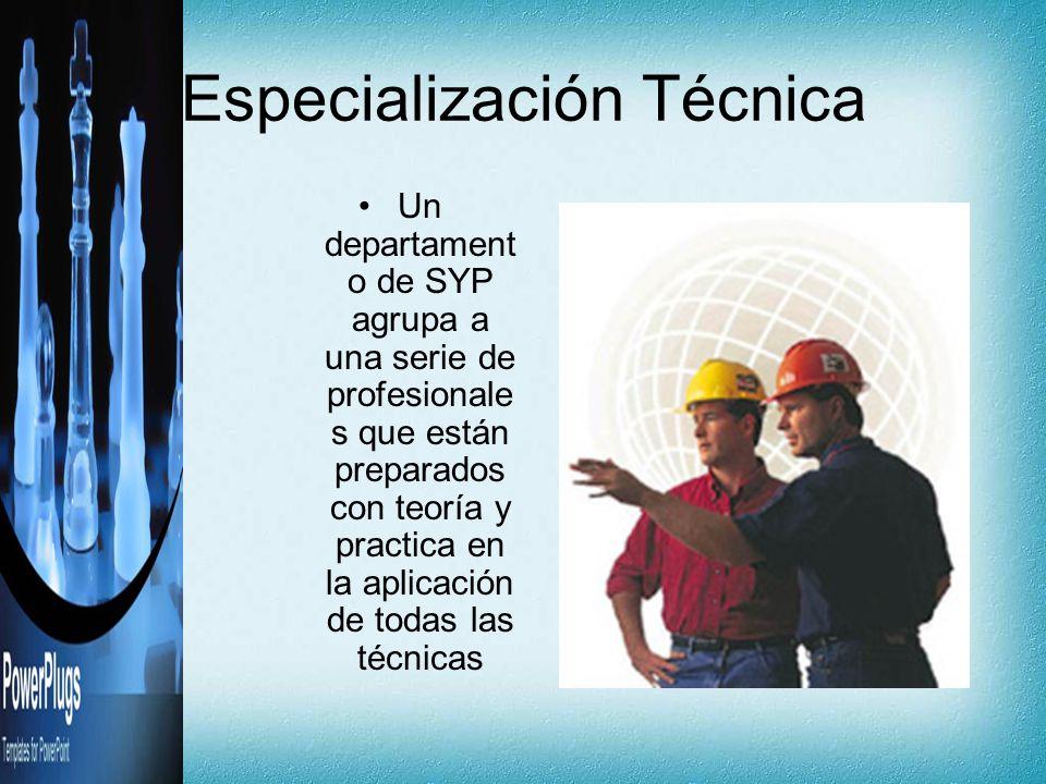 Especialización Técnica