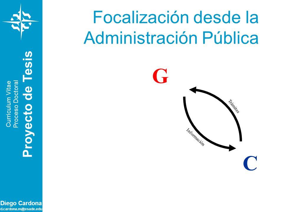 Focalización desde la Administración Pública