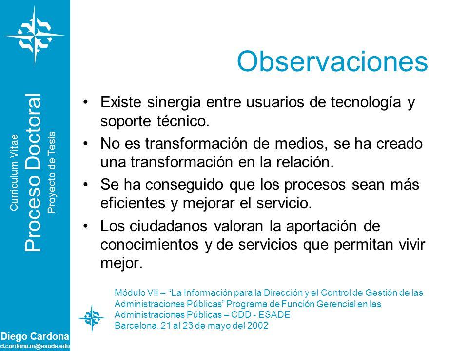 Observaciones Proceso Doctoral