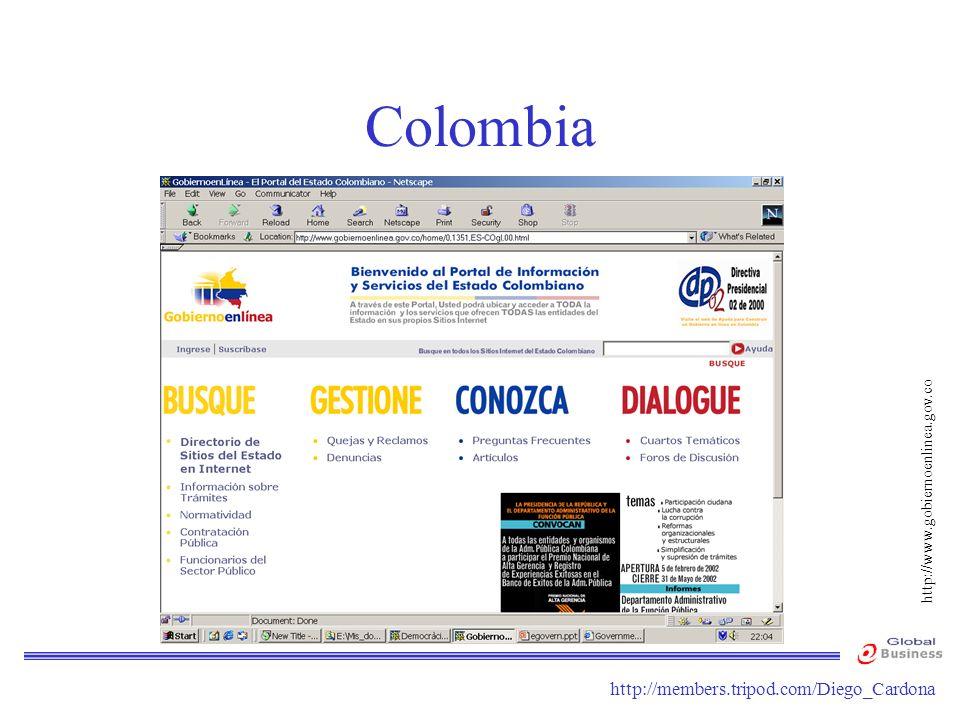 Colombia http://www.gobiernoenlinea.gov.co