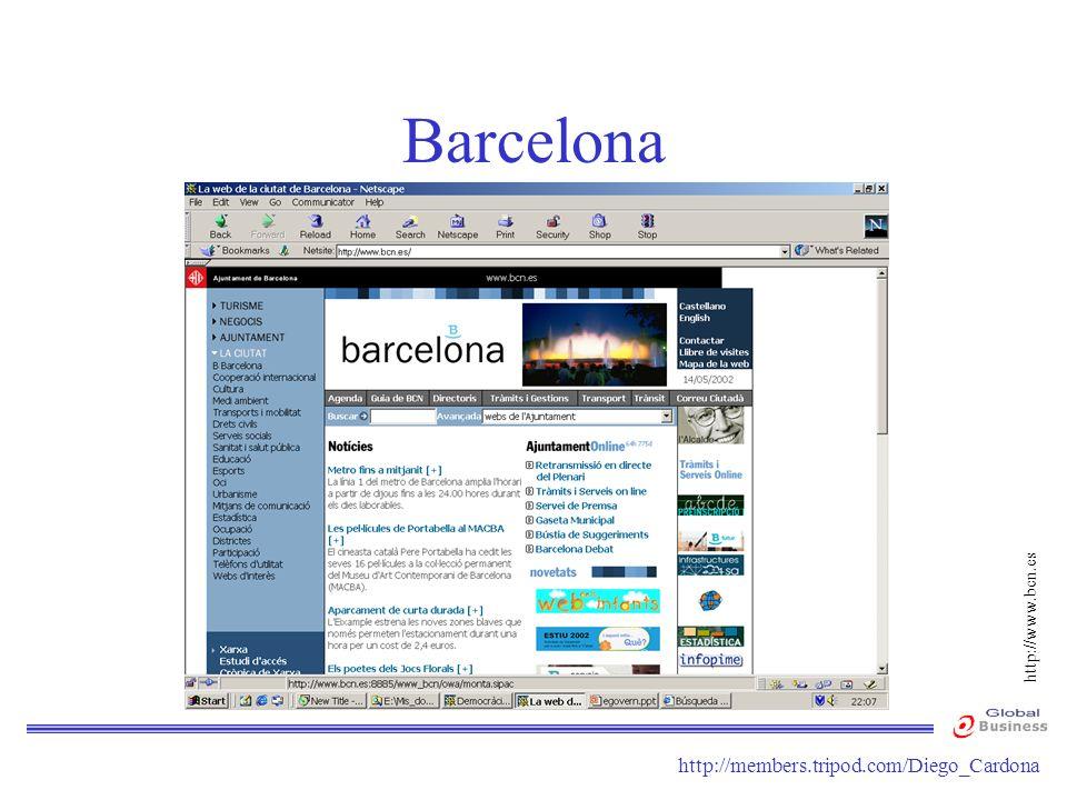 Barcelona http://www.bcn.es