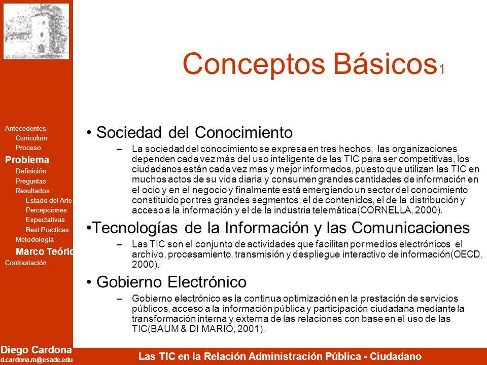 Conceptos Básicos1 Sociedad del Conocimiento