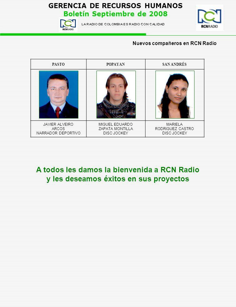 A todos les damos la bienvenida a RCN Radio