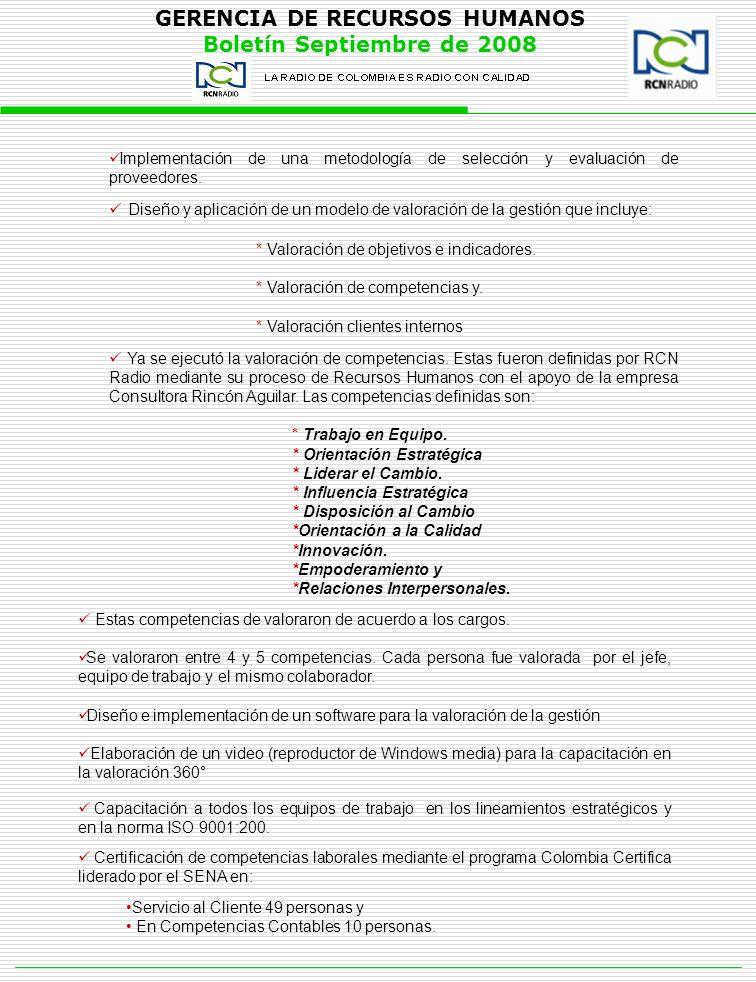 Implementación de una metodología de selección y evaluación de proveedores.
