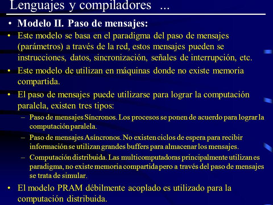 Lenguajes y compiladores ...